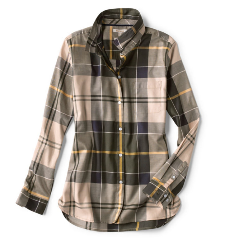 Orvis-Exclusive Barbour® Homeswood Shirt - OLIVE CHECK image number 0