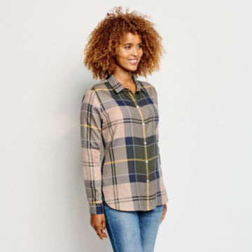 Orvis-Exclusive Barbour® Homeswood Shirt - OLIVE CHECK image number 2
