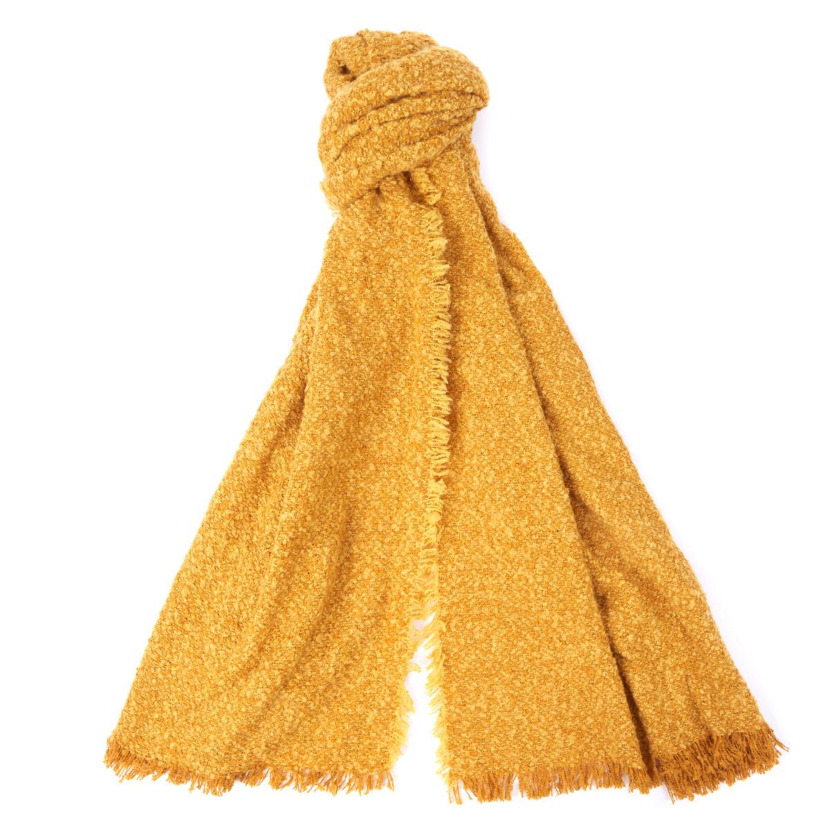 Barbour®  Megan Bouclé Wrap - GOLDENimage number 0