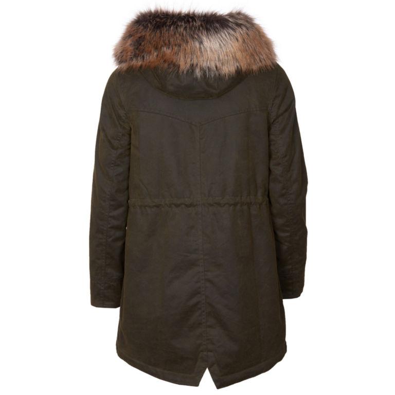 Barbour® Homeswood Wax Jacket - OLIVE image number 1