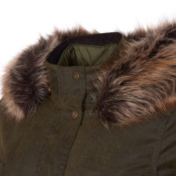 Barbour® Homeswood Wax Jacket - OLIVE image number 2