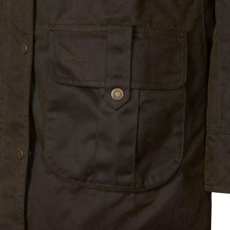 Barbour® Homeswood Wax Jacket - OLIVE image number 3