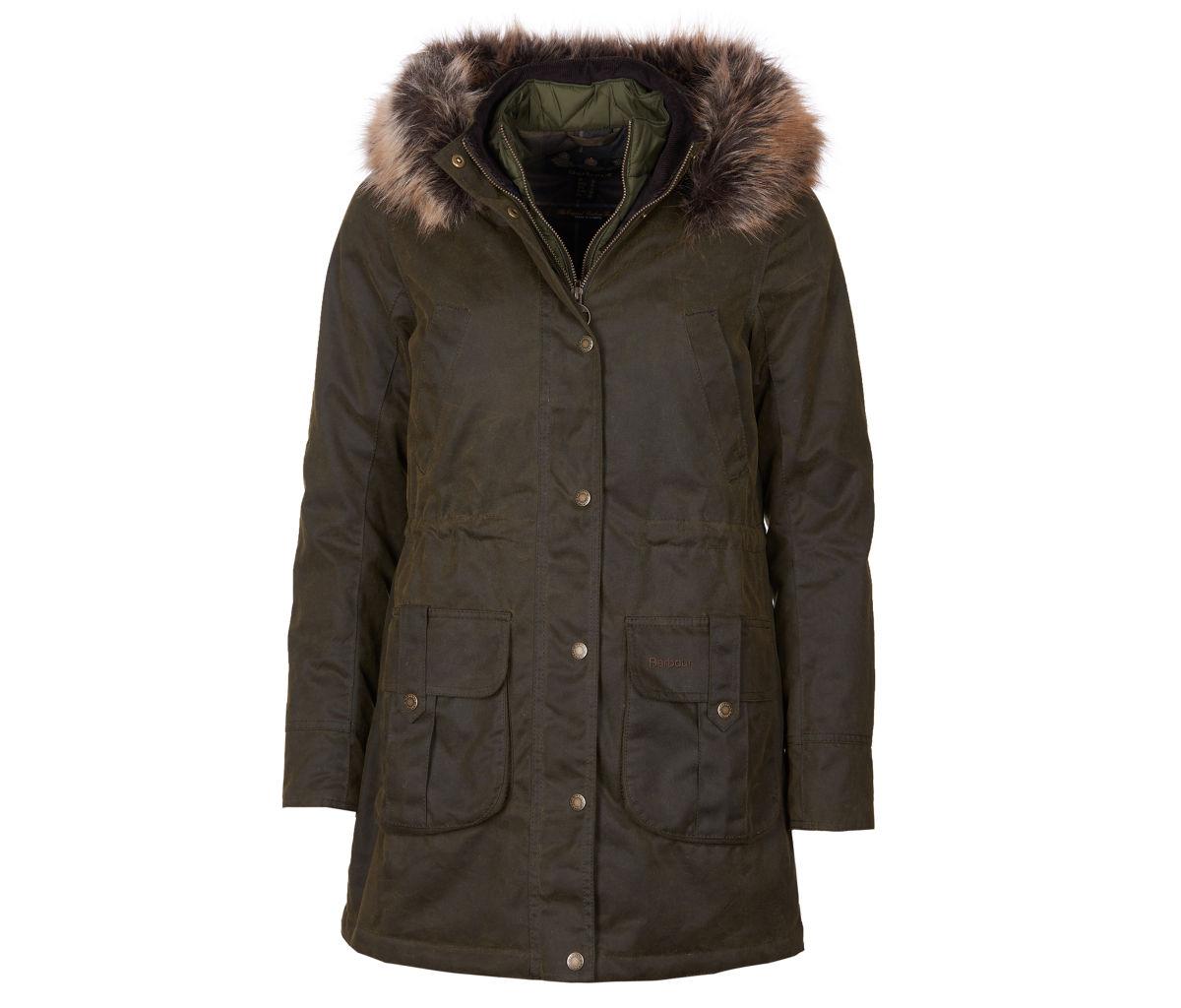 Barbour® Homeswood Wax Jacket - OLIVEimage number 0