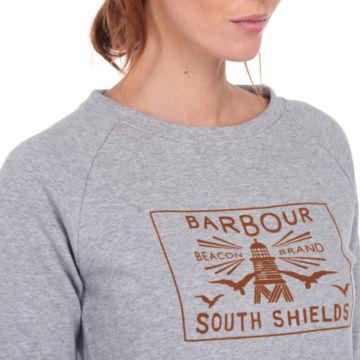 Barbour® Lewes Overlayer - LIGHT GRAY MARL image number 3