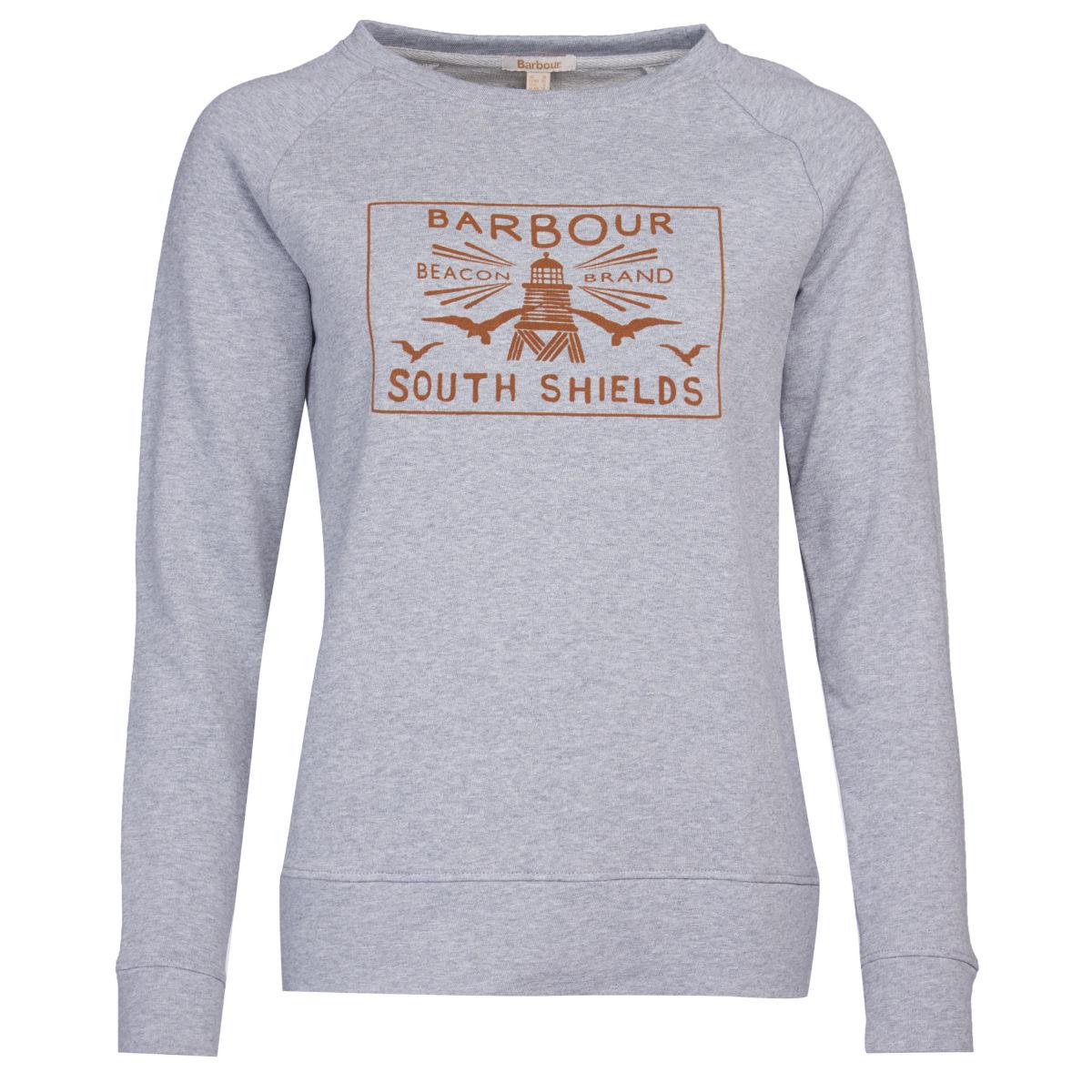 Barbour® Lewes Overlayer - LIGHT GRAY MARLimage number 0