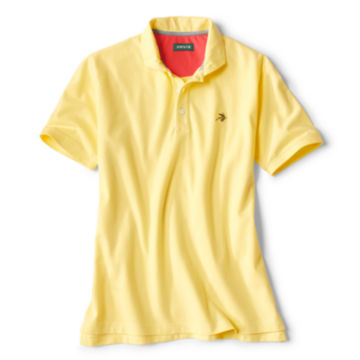 On the Fly Polo - PALE YELLOW image number 0
