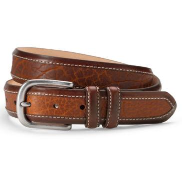 Bison Inlay Belt -