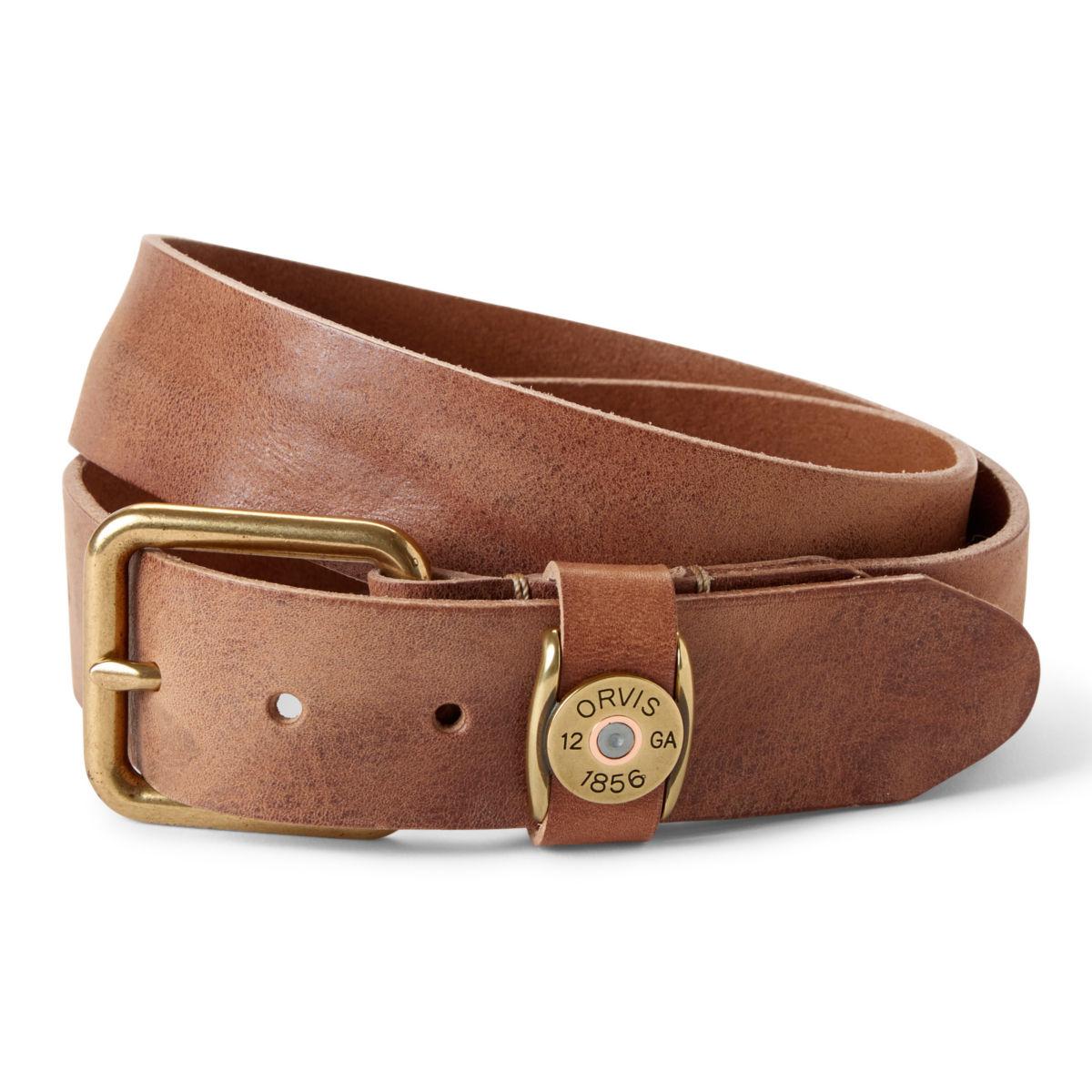 Vintage Leather Shotshell Belt - image number 0