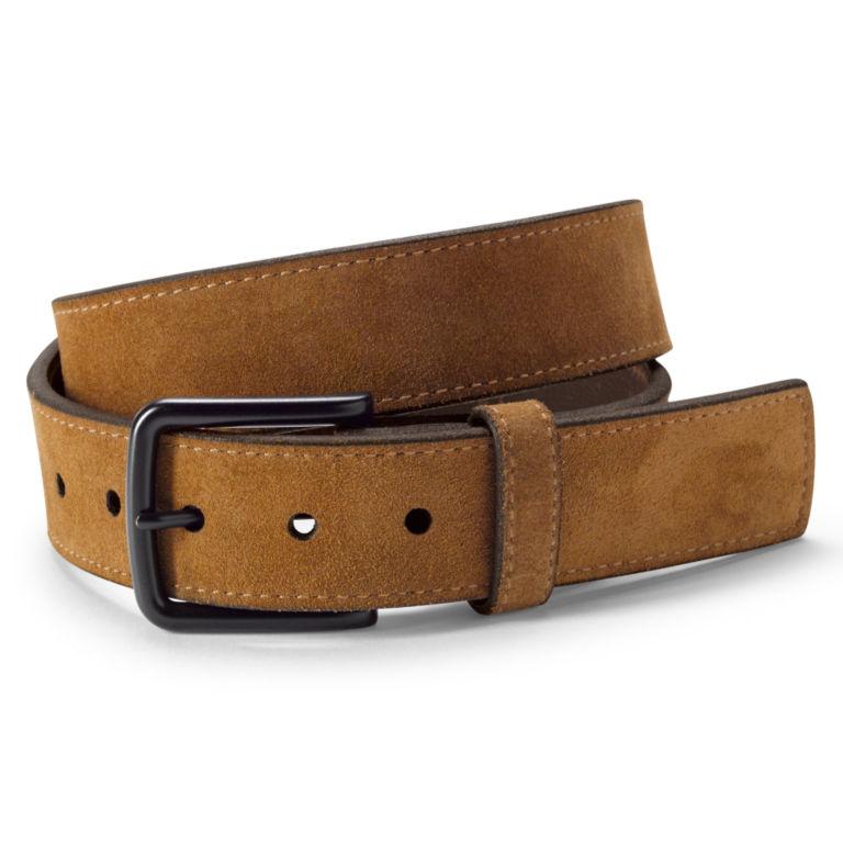 Rugged Suede Belt - BEIGE image number 0