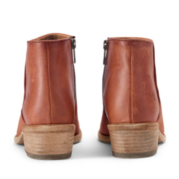 Frye® Carson Piping Booties - COGNAC image number 1