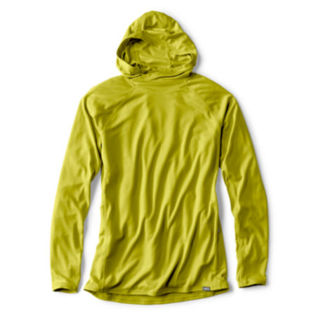 citron hoodie on white background
