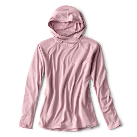 A dusty pink women's Pro Sun hoodie