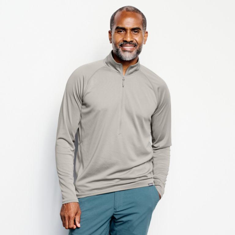 PRO Sun Half-Zip Shirt -  image number 1