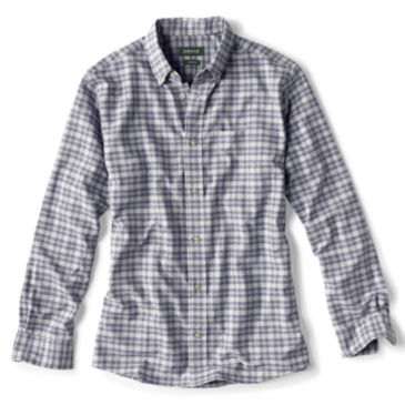 Excursion Long-Sleeved Shirt - NAVY CHECK