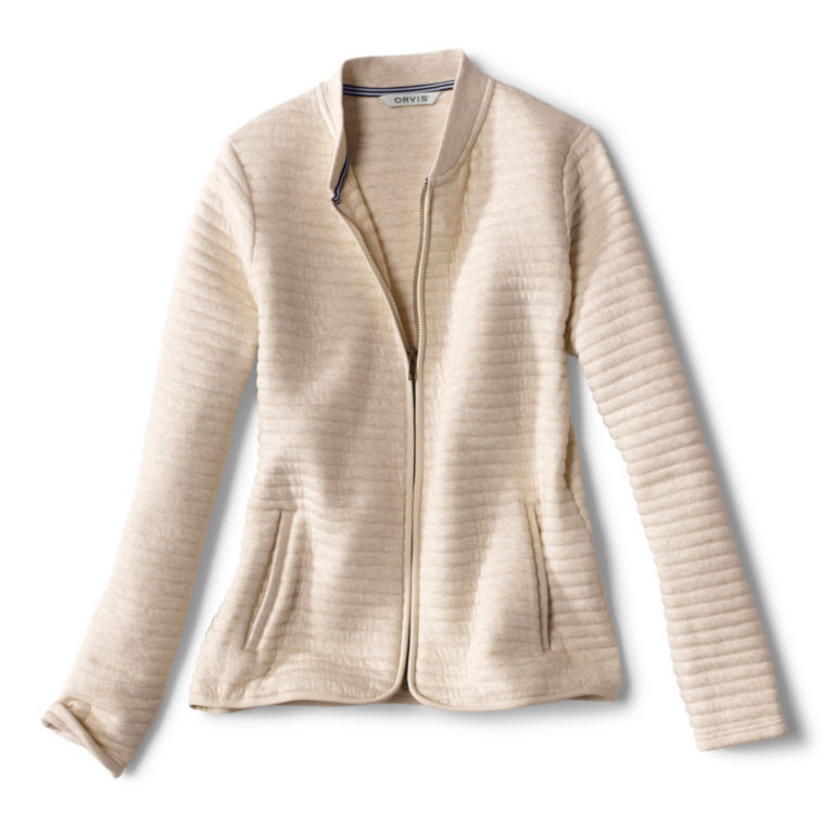 Quilted Bomber Sweatshirt -  image number 5