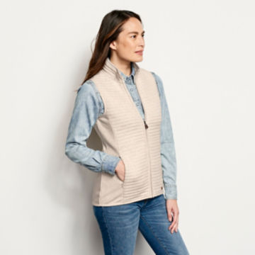 Placed Quilted Vest -  image number 1