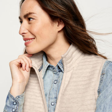 Placed Quilted Vest -  image number 3