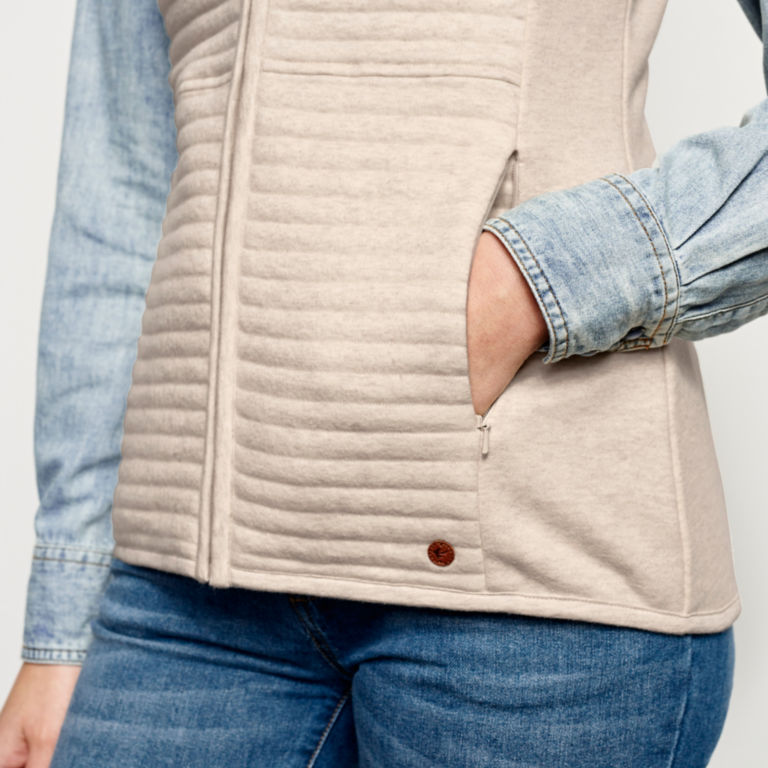Placed Quilted Vest -  image number 4