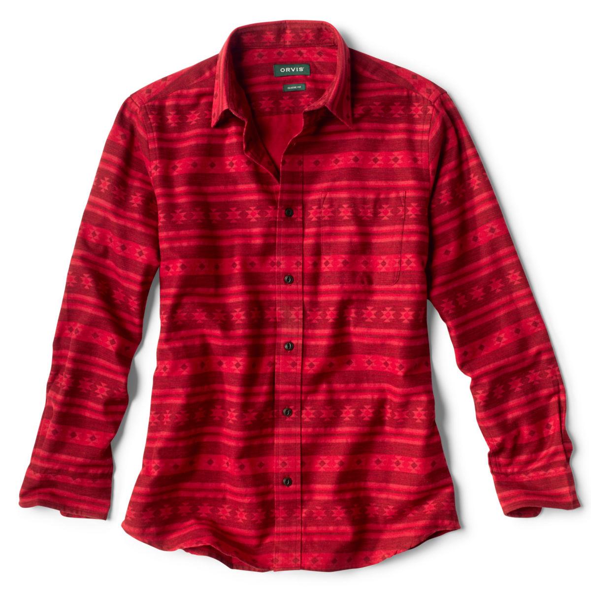 Big Timber Printed Long-Sleeved Shirt - BARN REDimage number 0