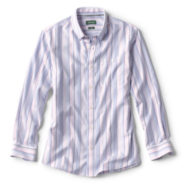 Pinpoint Stripe Wrinkle-Free Comfort Stretch Long-Sleeved Shirt -
