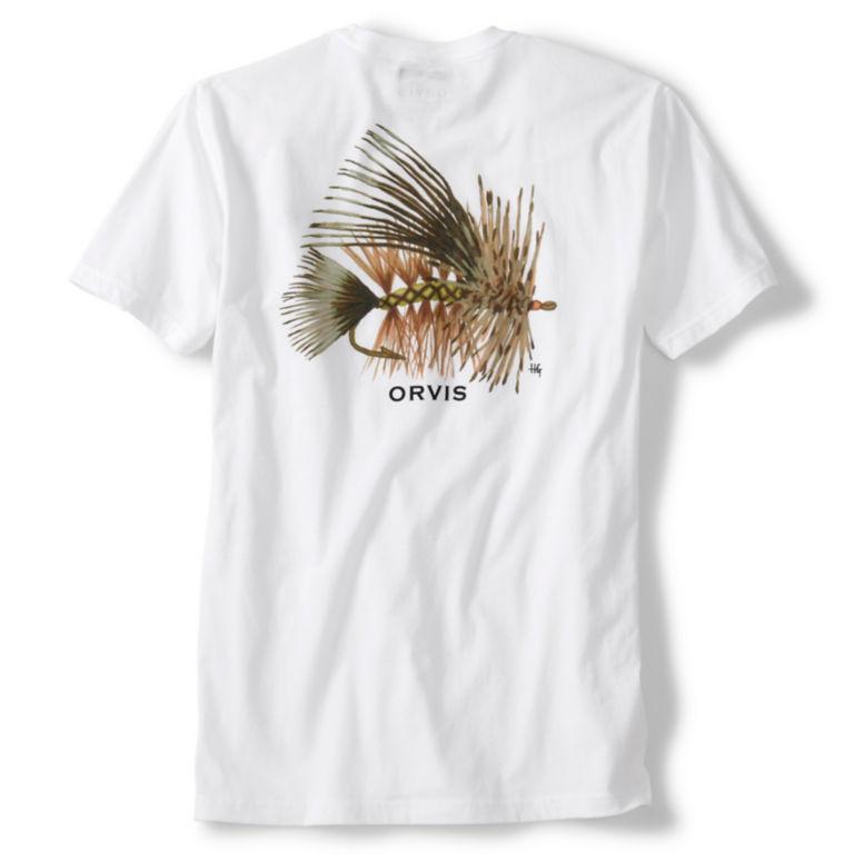 Yellow Stimulator Fly T-Shirt - WHITE image number 0