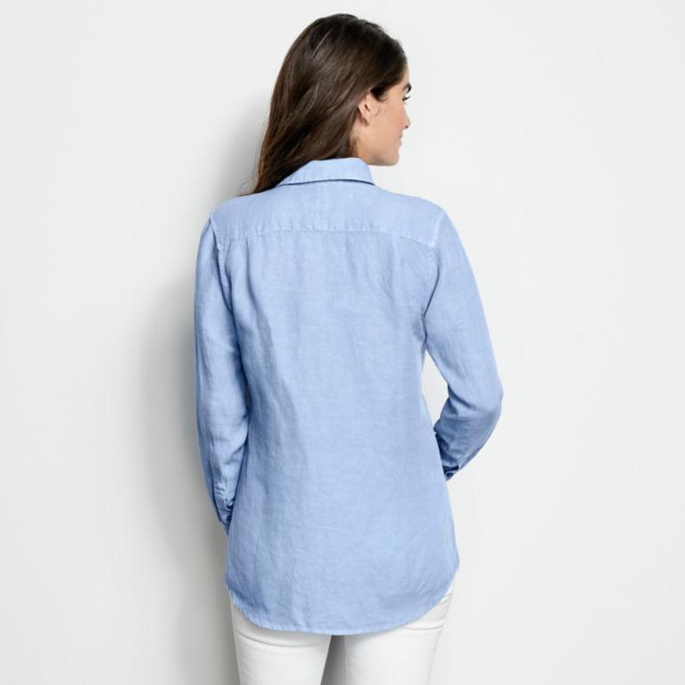Linen/Tencel Herringbone Shirt -  image number 2