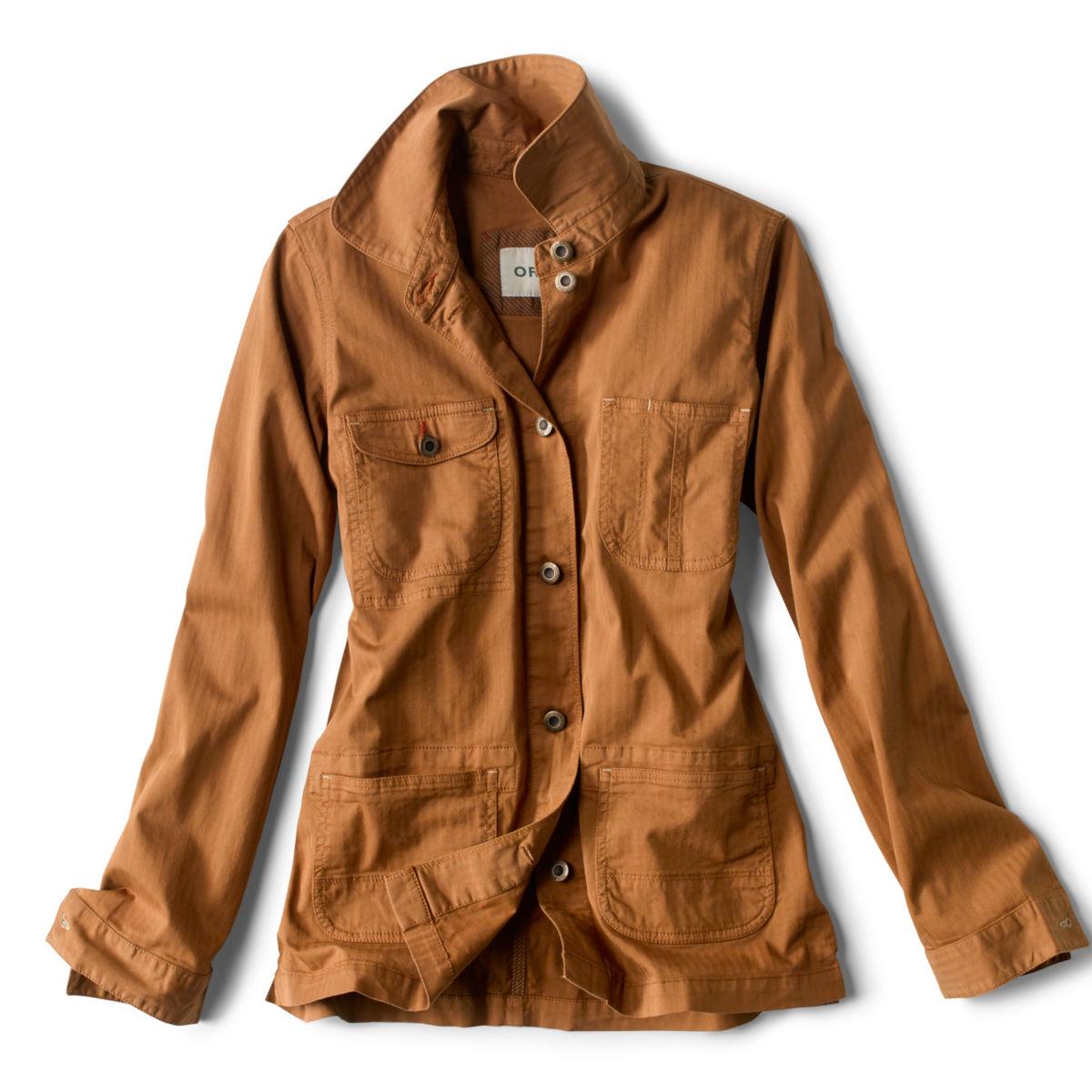 Herringbone Chore Jacket - DARK VICUNAimage number 0