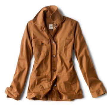 Herringbone Chore Jacket - DARK VICUNA image number 0