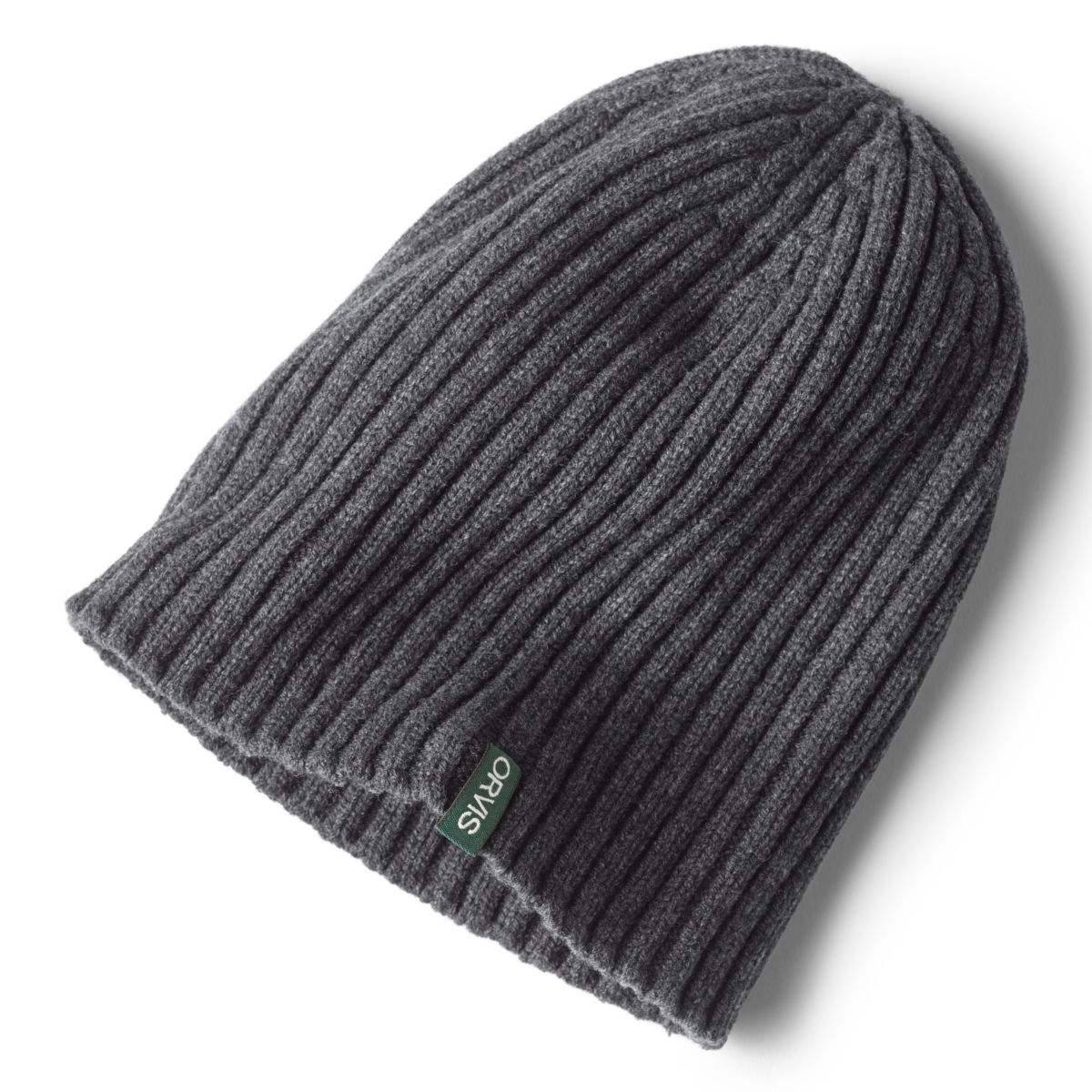 Merino Wool Rib Knit Hat - image number 0