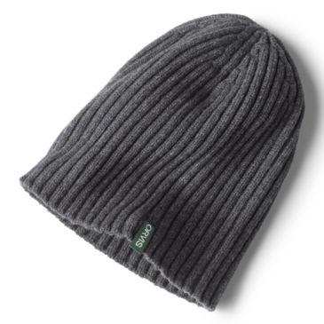 Merino Wool Rib Knit Hat -