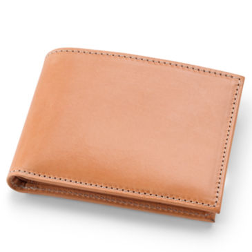 Natural Leather Billfold -