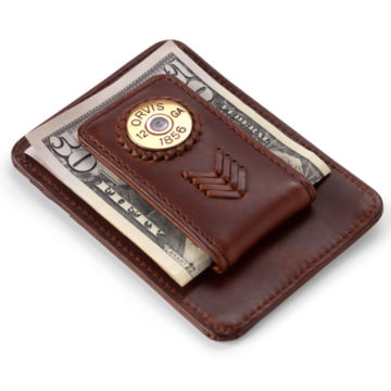 Shotshell Money Clip - BROWN image number 0