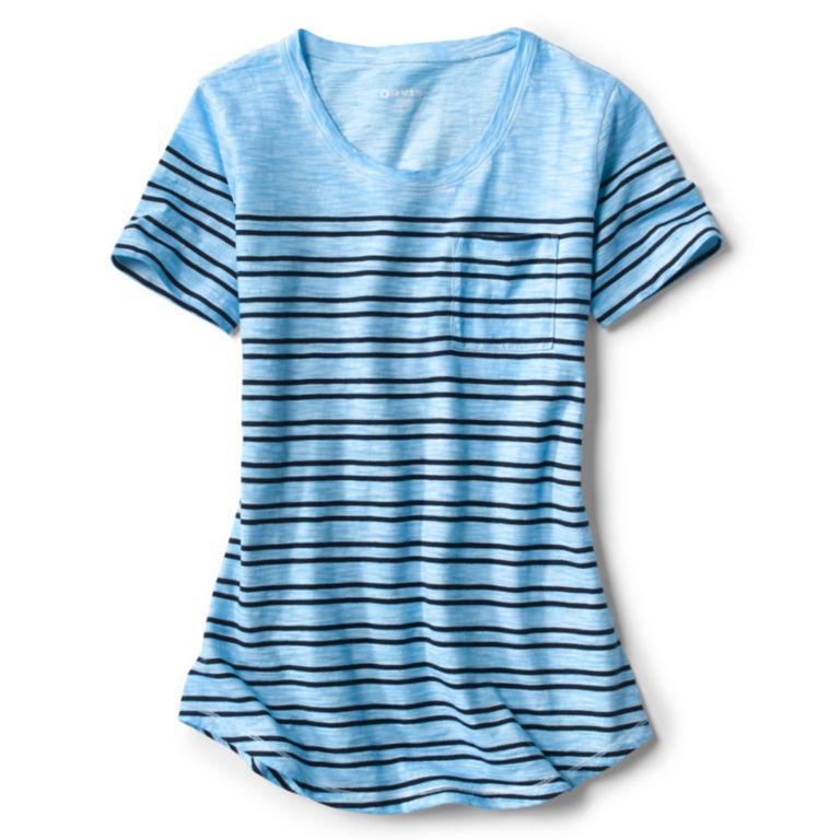Washed Slub Short-Sleeved Tee -  image number 4