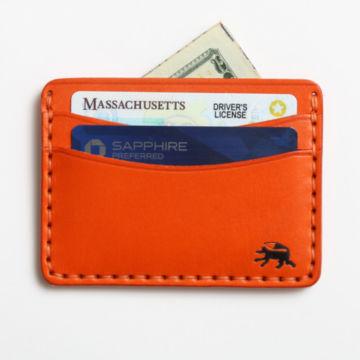Todder Hand-Stitched Five-Pocket Wallet - ORANGE image number 2