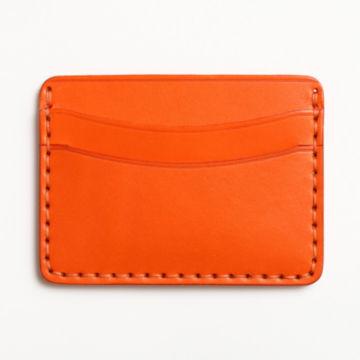 Todder Hand-Stitched Five-Pocket Wallet - ORANGE image number 1