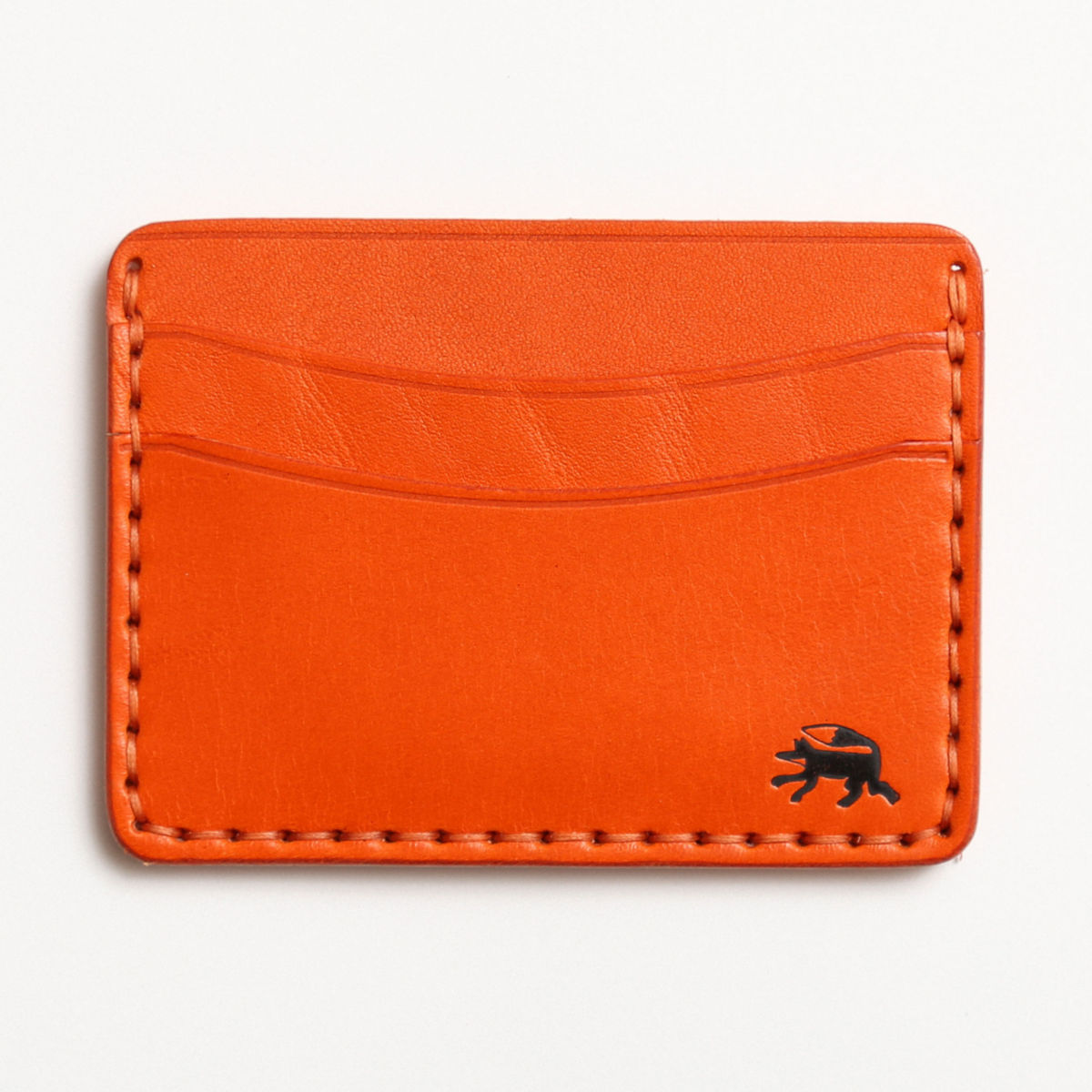 Todder Hand-Stitched Five-Pocket Wallet - ORANGEimage number 0