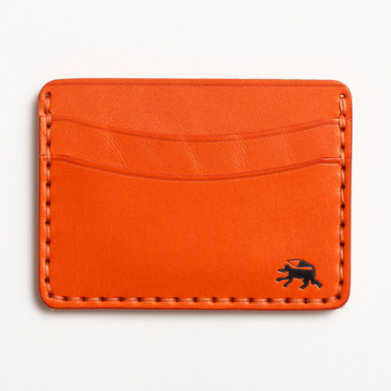 Todder Hand-Stitched Five-Pocket Wallet - ORANGE image number 0