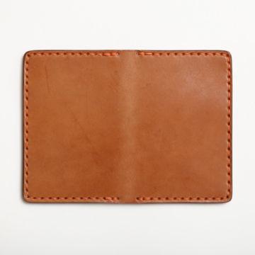 Todder Hand-Stitched Vertical Pocket Wallet - BROWN image number 1