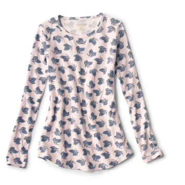 Long-Sleeved Relaxed Perfect Tee -  image number 4