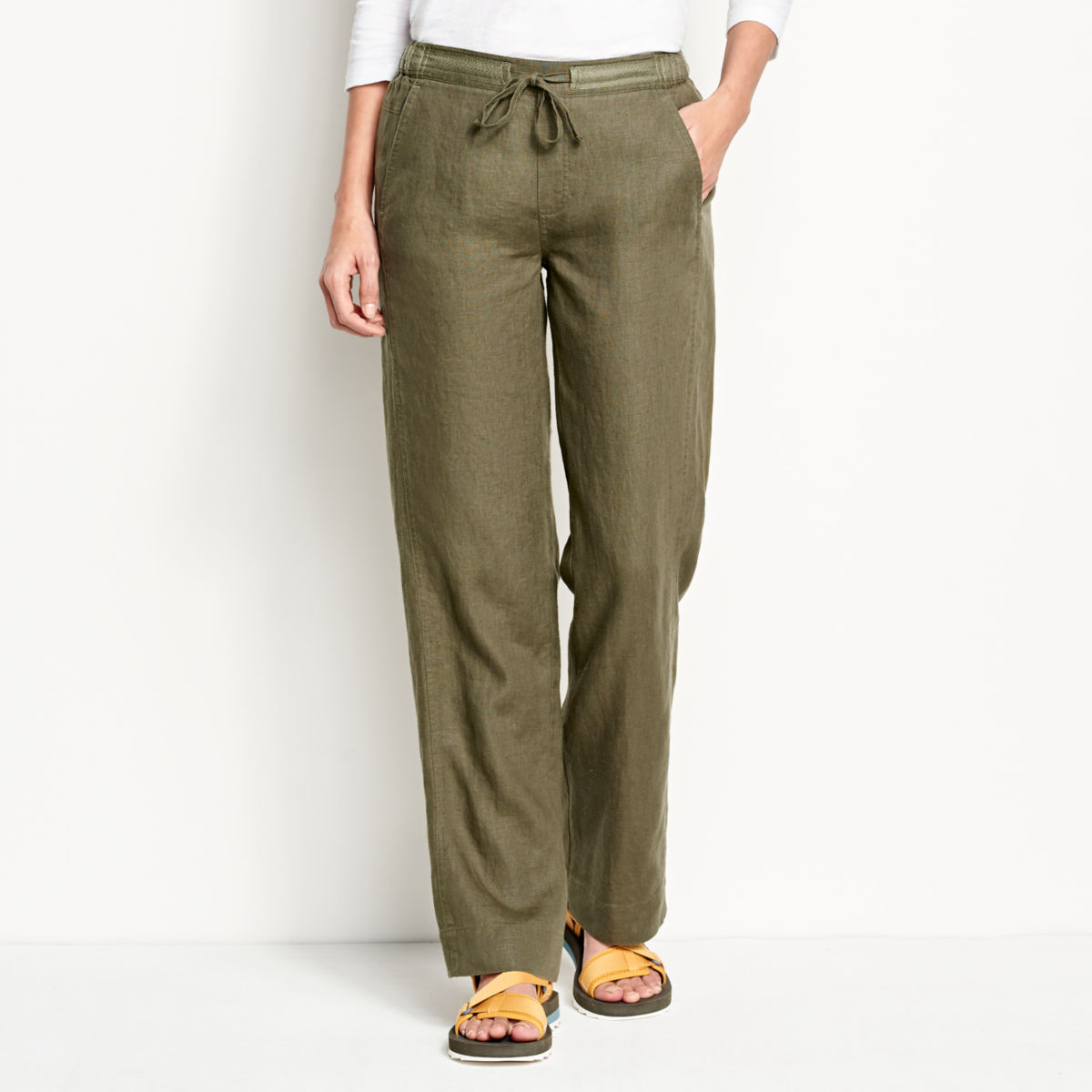 Orvis Performance Linen Pants - image number 0