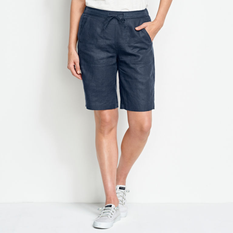 Orvis Performance Linen Shorts -  image number 1