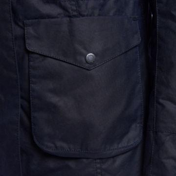 Barbour® Tern Wax Jacket - ROYAL NAVY image number 4
