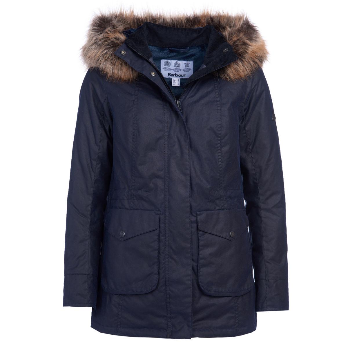 Barbour® Tern Wax Jacket - ROYAL NAVYimage number 0