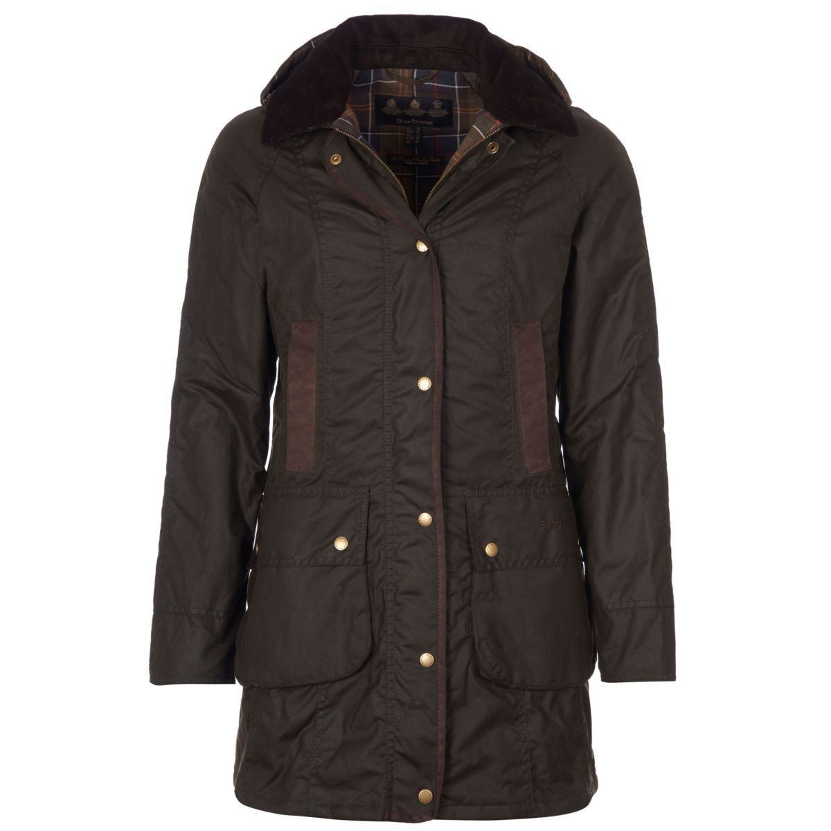 Barbour® Bower Wax Jacket - OLIVEimage number 0