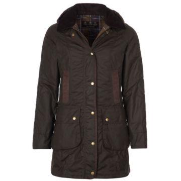 Barbour® Bower Wax Jacket - OLIVE image number 0