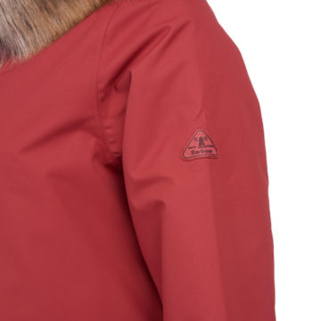 Barbour® Bournemouth Jacket - BURNT RED image number 3