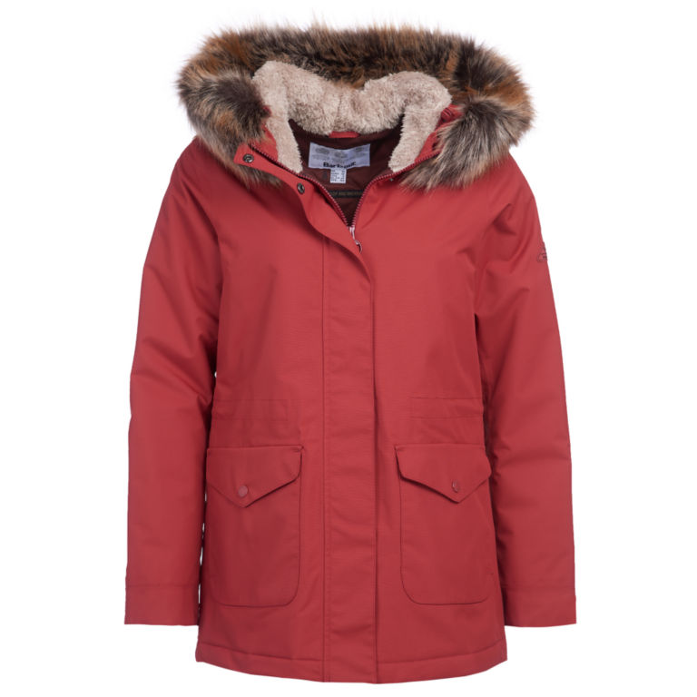 Barbour® Bournemouth Jacket - BURNT RED image number 0