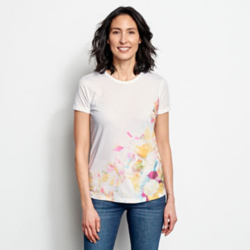 Watercolor Printed Tee -  image number 0