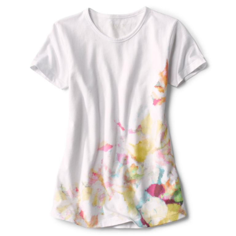 Watercolor Printed Tee -  image number 4