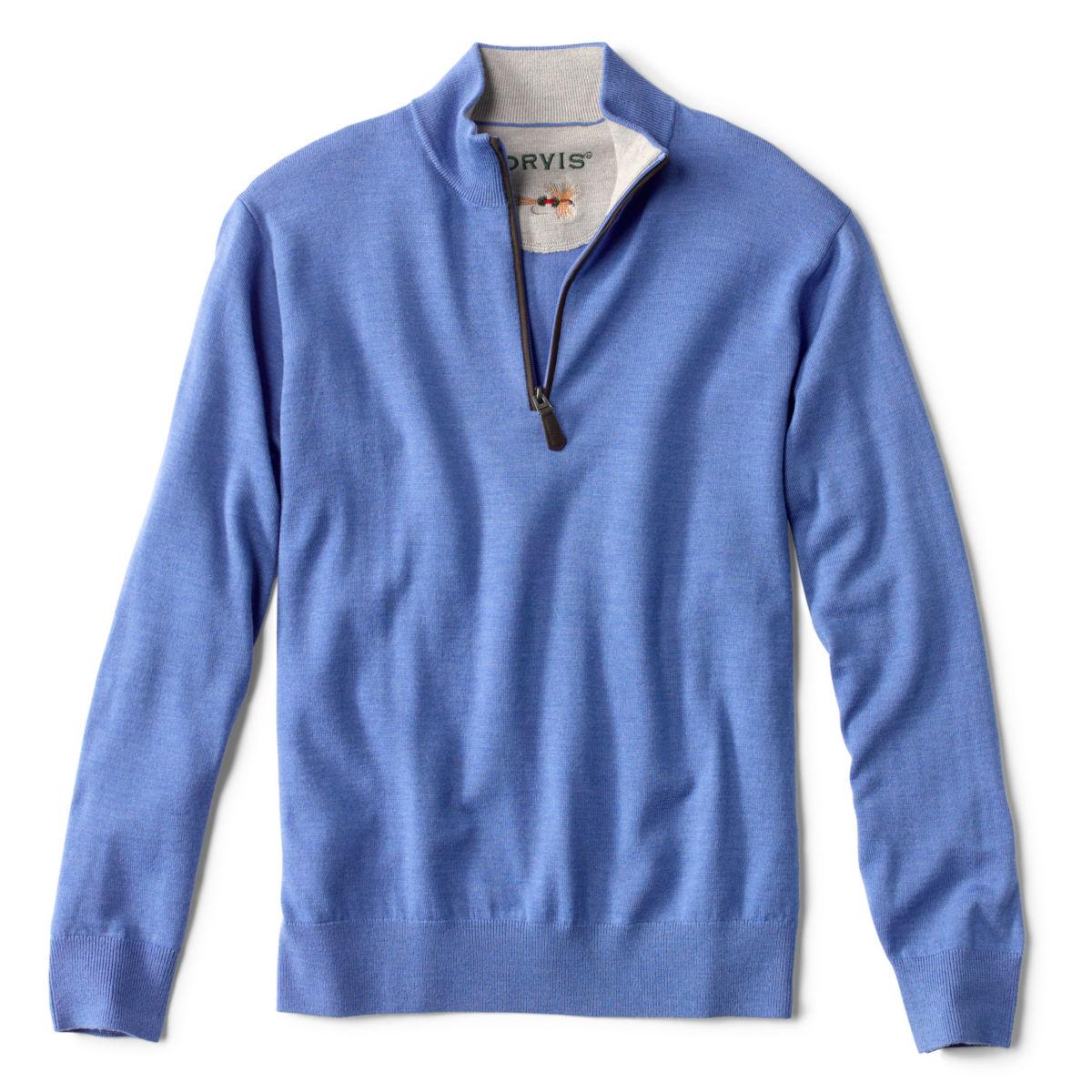 Merino Wool Quarter-Zip Sweater 2.0 - image number 0